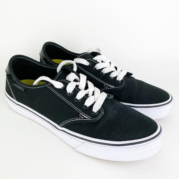 4b5c21cb439d33 Vans Women s Ortholite Canvas Shoes Black 8.5. M 5c1150244ab6331953aa6517
